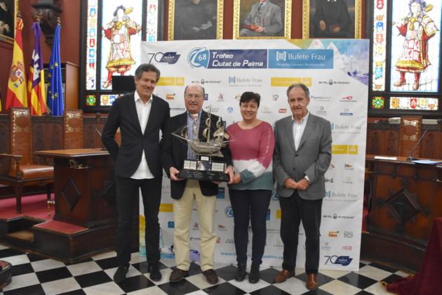 Presentació 68 Trofeu Ciutat de Palma de Vela Bufete Frau