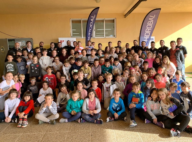 Visita al colegio Ses Quarterades de Calvià