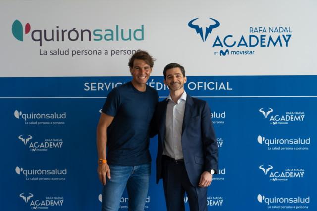 Acuerdo Rafa Nadal Academy & QuirónSalud