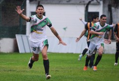 Mauro Gómez festejo vs Mitre