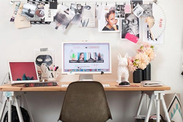 Trabaja entretenido y renueva tu escritorio depto51 blog for Ideas para decorar mi escritorio