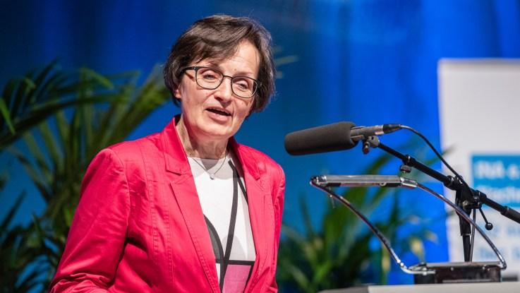 Birgit Wentzien, Chefredakteurin des Deutschlandfunks. Copyright: Deutschlandfunk/David Ertl.
