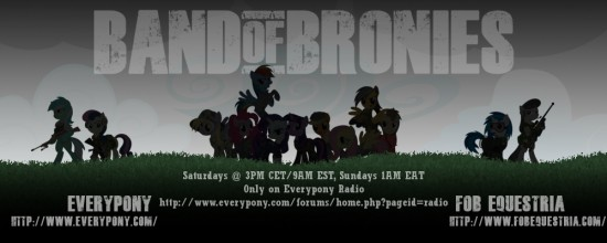 Band of Bronies Show banner