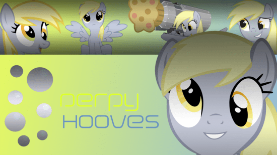 Project Derpy Hooves Wallpaper (720p) by XxGalaxyElitexX