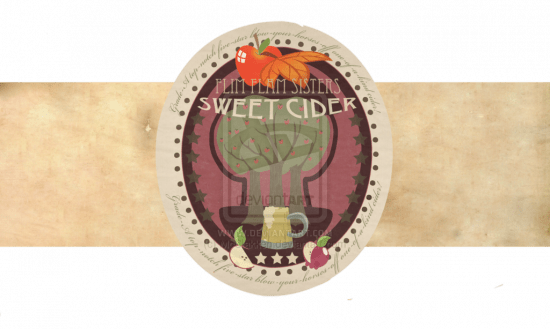 Flim Flam Sisters Cider Label by McClakken