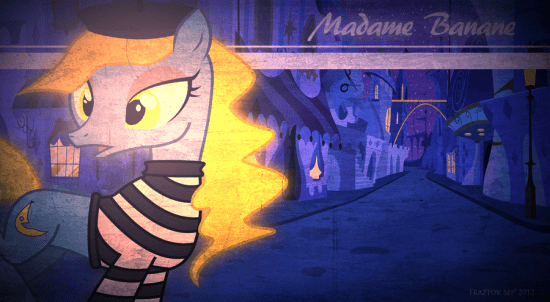 Madame Banane – Frazpaper by Fraztov
