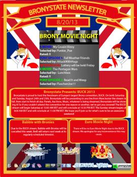 BronyState Newsletter 8/20/2013