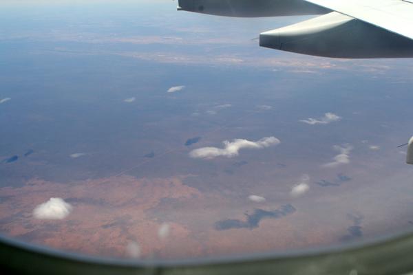 Arrivée en avion Perth