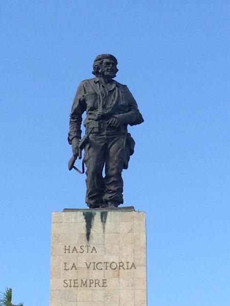 La statue Che Guevara