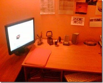 My principal desk