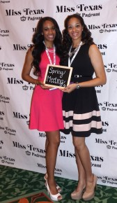 My roommate for Miss Texas!! Amber Stafford :-)