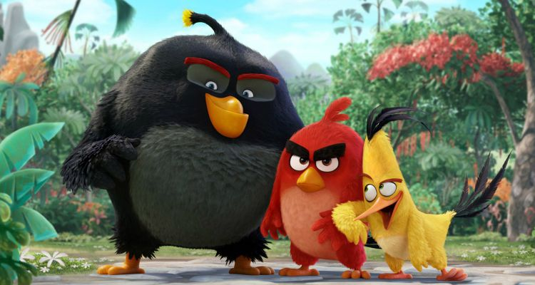 THE ANGRY BIRDS MOVIE