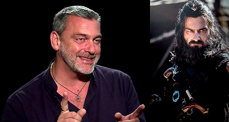 BLACK SAILS Interview with Ray Stevenson