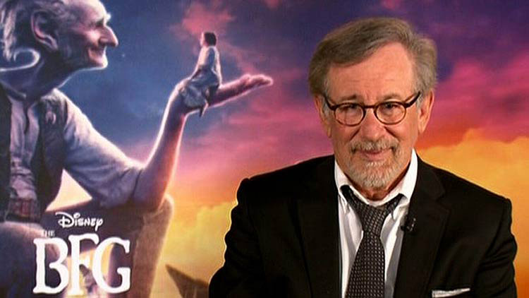 The Experience of Talking to Spielberg for THE BFG