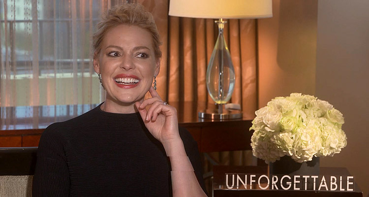 Katherine Heigl Talks UNFORGETTABLE