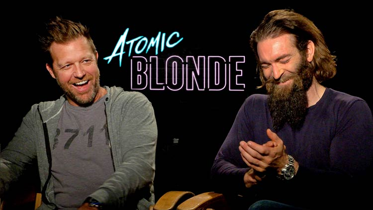 Exclusive ATOMIC BLOND Blu-ray Interview