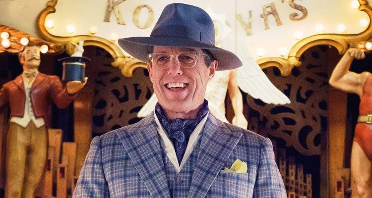 Hugh Grant Steals PADDINGTON 2 Conference