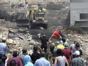 Enfrentamientos palestino e israelíes en Cisjordania