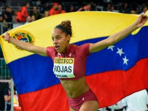 Yulimar Rojas obtuvo medalla de plata