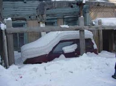 Yakutsk-carro-congelado