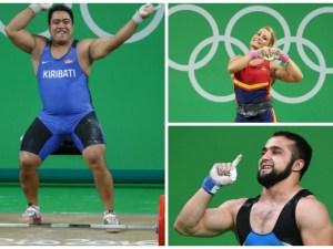 Reacciones más curiosas de los atletas