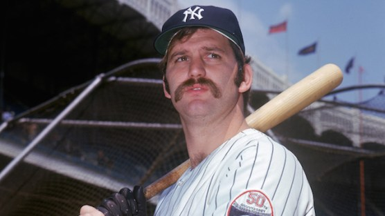 NEW YORK - UNDATED: Thurman Munson #15 of the New York Yankees poses for a portrait circa 1969-79 at Yankee Stadium in the Bronx, New York. (Photo by Louis Requena/MLB Photos via Getty Images)