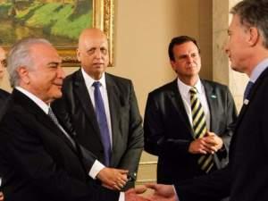 Presidentes Argentina Brasil