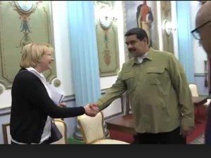 Maduro recibió a la Fiscal