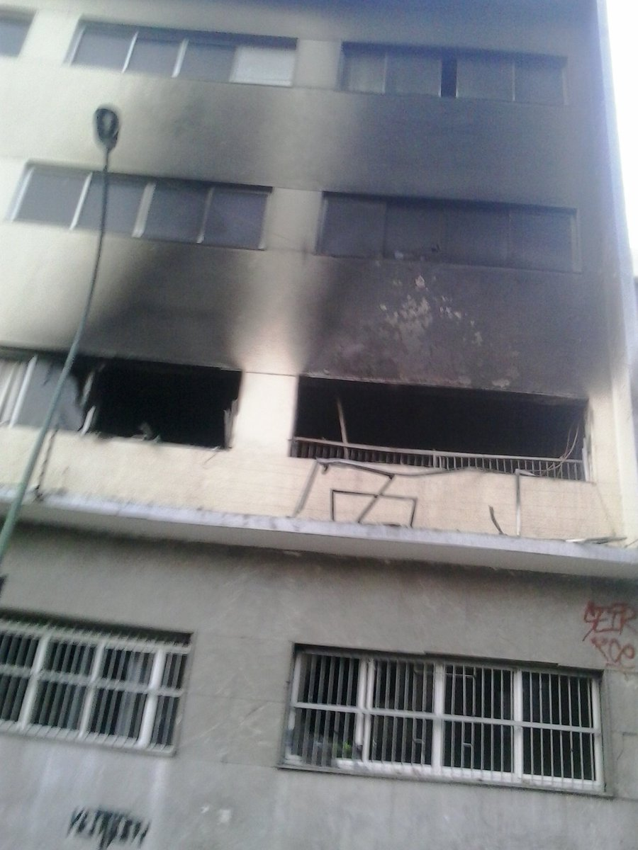 edif INN quemado