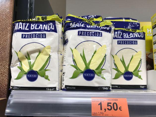 harina precocida italiana