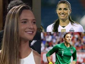 futbolistas más bellas