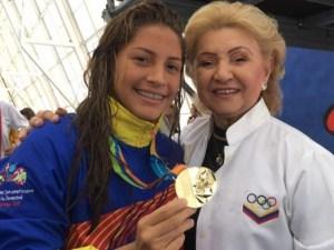 nadadora venezolana