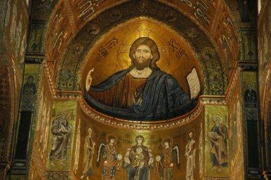 Mosaico de la Catedrale di Monreale