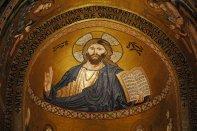 Estupendo mosaico de la Cappella Palatina en Palermo