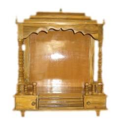 Wooden Pooja Mandir Altar Open Style 27 X 13 Desiclik Com Usa