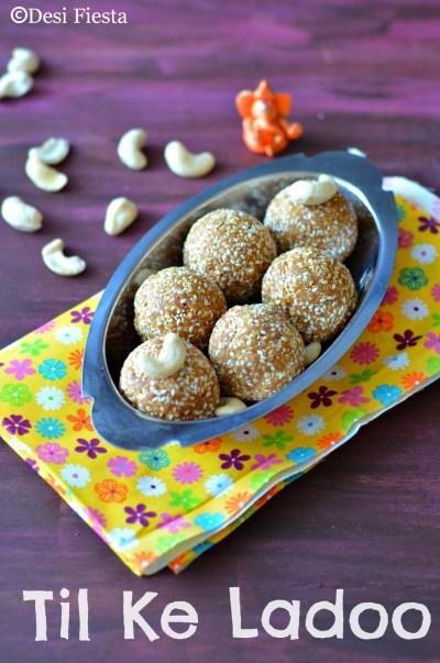 Til ke Ladoo | Sesame Seeds Ladoo| Ellu urundai Recipe ( with Jaggery ) - Desi Fiesta