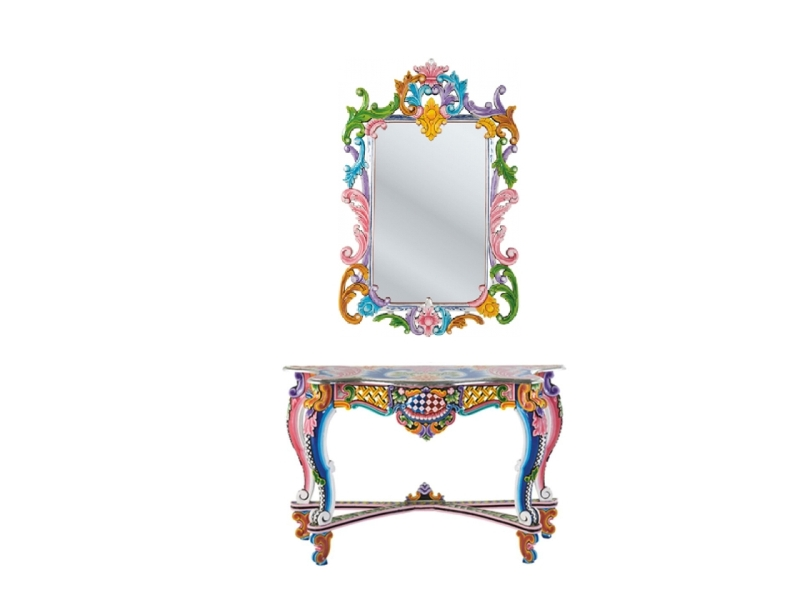 Fantasia Console Table Wall Mirror From The Ibiza Collection Of Kare Design 2011 Design