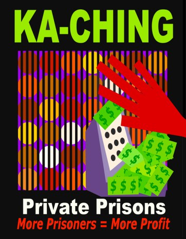 private prisons, cca, prison profiteering