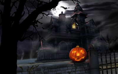 45 Scary Halloween 2012 HD Wallpapers | Pumpkins, Witches, Spider Web, Bats & Ghosts Collection ...