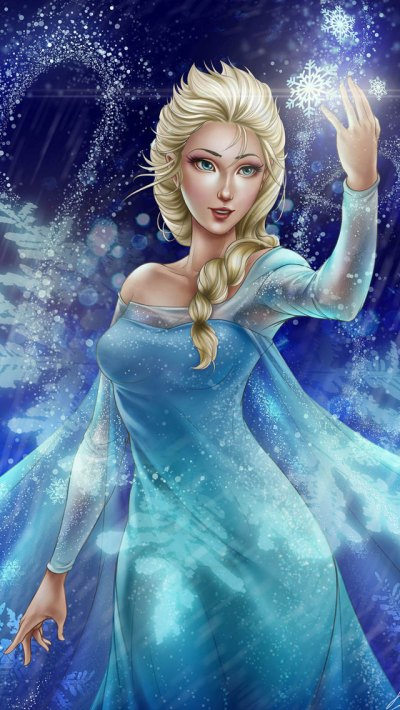 Frozen Elsa & Anna Digital Fan Art Wallpapers – Designbolts