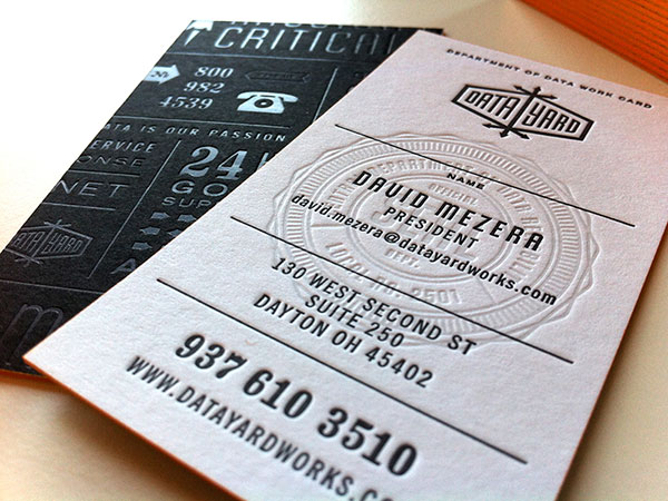 Seal on business card design 30+ Beautiful Examples of Modern Business Card Designs for Inspiration