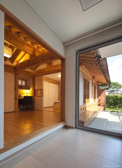 guga marries a contemporary home with korean 'hanok'
