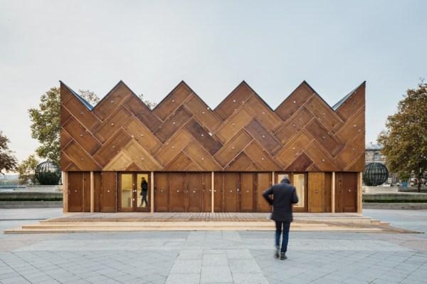 Circular Pavilion, Paris