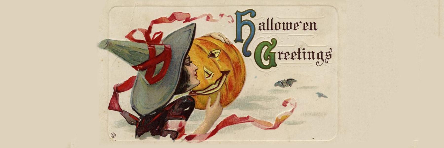 Fullsize Of Vintage Halloween Cards