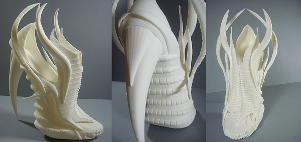 3D printed shoes- The Exoskeleton