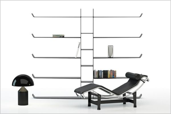 Aerodynamic Bookshelf