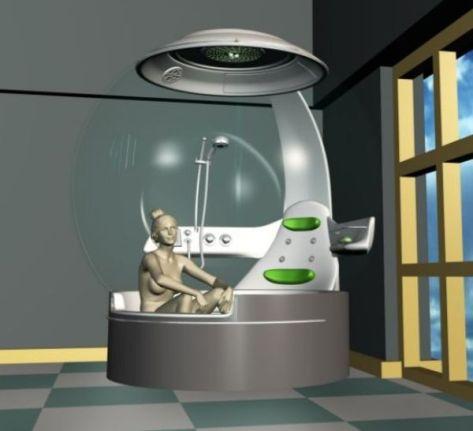 Aquatic Thermal Bathroom by Didem Hazinedar