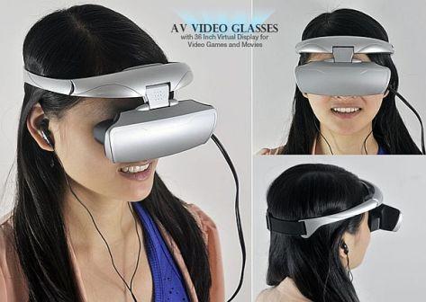 AV Video Glasses