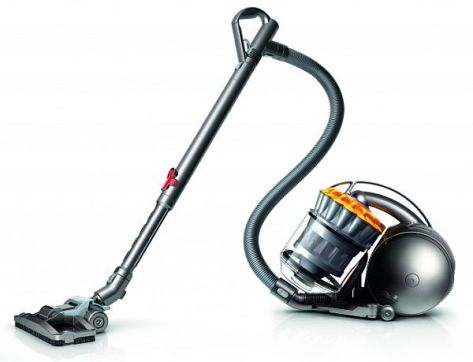 Ball cylinder vacuum cleaner