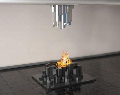 Basalto Fireplace